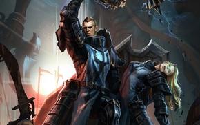 Картинка Diablo 3, crusader, rescue, reaper of souls