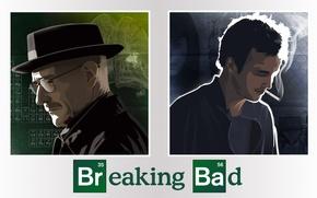 Картинка сериал, актеры, персонажи, Breaking Bad, во все тяжкие, Брайан Крэнстон, Walter White, Jesse Pinkman, Аарон …