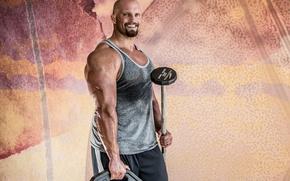 Картинка smile, bodybuilder, big arms