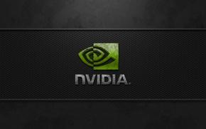 Картинка dark, nvidia, logo, Cool corrosion, best image quality