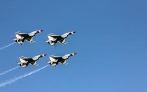 Картинка самолёты, Thunderbirds, Air Fest