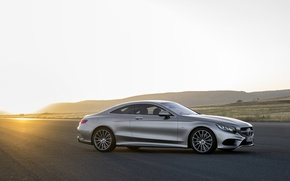 Картинка Mercedes-Benz, Coupe, S-Class, 2015