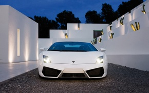 Картинка Lamborghini, white, sportcar