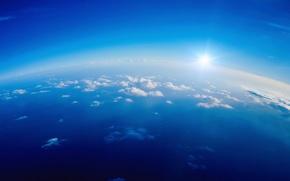 Обои небо, атмосфера, Облака