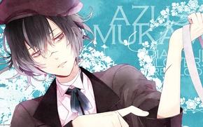 Картинка арт, парень, diabolik lovers, Azusa Mukami