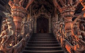 Картинка ступени, храм, архитектура