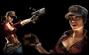 """Картинка девушка, обои, арт, Call of Duty, Zombie, games, Black Ops II, treyarch, Абигейл """"Мисти"""" Брайтон, …"""