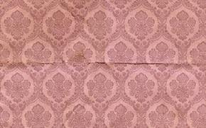Картинка pattern, vintage, фон, texture, paper, орнамент, узор, wallpaper