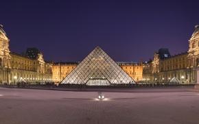 Картинка париж, музей, лувр