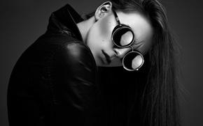 Картинка девушка, очки, куртка, Chloé, Ynot Photographe