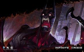 Картинка DC comics, Warner Games, Infinite Crisis, Nightmare Batman