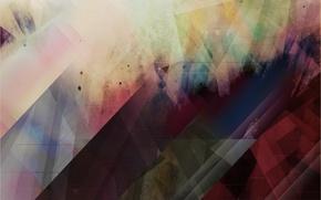Картинка абстракции, разноцветные, калеидоскоп