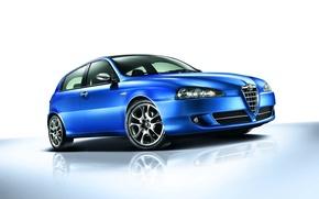 Картинка Blue, Alfa, Romeo, 147, Alfa 147, Alfa Romeo cars, Alfa Romeo 147 Wallpaper, Alfa Romeo …