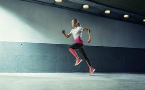 Картинка woman, training, movement, running, trotting