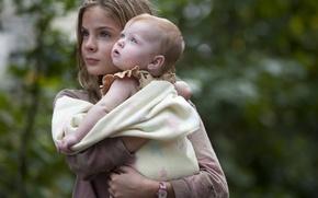 Картинка дети, сериал, Lizzie, The Walking Dead, Brighton Sharbino