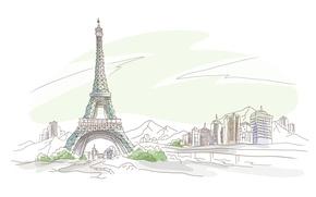 Обои париж, ейфелевая башня, францыя, франция