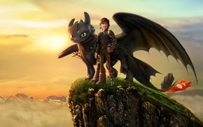 Картинка Action, Fantasy, Dragon, DreamWorks, Family, Animation, Viking, Movie, Adventure, Comedy, Jay Baruchel, Hiccup, How To …