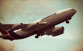 Картинка Airlines, Airplane, Aviation, IL-96-300, Cubana