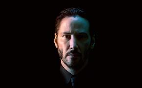 Картинка портрет, актёр, Keanu Reeves