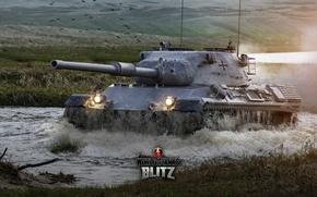 Картинка Германия, танк, танки, Germany, WoT, Мир танков, tank, World of Tanks, tanks, Wargaming.Net, Leopard 1, …