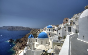 Картинка Санторини, Греция, Santorini, Oia, Greece