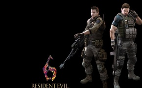Картинка game, sniper, powerful, nivans, nivans piers, redfield chris, chris redfield, piers, redfield, piers nivans, gun, …