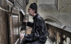 Картинка человек, орган, музыка