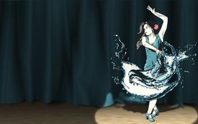 Картинка сцена, прожектор, танцовщица, Smashing Magazine