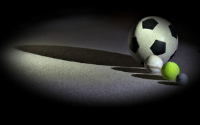 Картинка фон, спорт, мячи