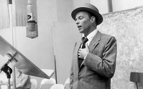 Картинка ретро, актер, мужчина, легенда, лучший, певец, Frank Sinatra, Francis Albert Sinatra, человек-эпоха, sinatra, xx век