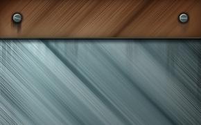 Обои фон, дерево, текстура, металлик
