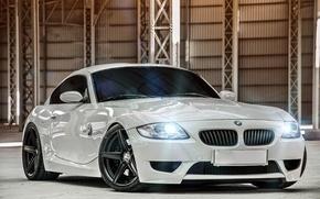 Картинка BMW, Matte Black, Deep Concave, M Coupe