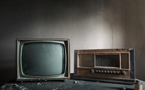 Картинка радио, телевизор, приёмник