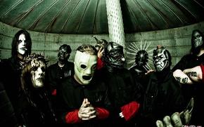 Обои группа, slipknot, музыка
