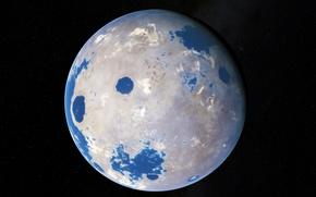 Картинка на орбите, экзопланета, в созвездии Лебедя, жёлтого карлика, Kepler-452 b