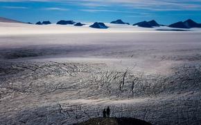 Картинка Alaska, Kenai Fjords National Park, Harding Icefield