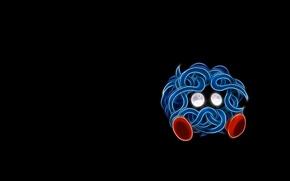 Картинка покемон, pokemon, неоновые линии, танжела, tangela