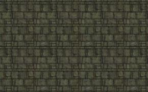 Картинка поверхность, линии, металл, фон, квадраты, плиты, текстуры, заклёпки