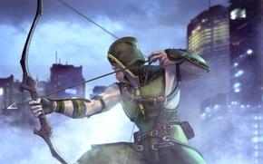 Картинка Green Arrow, DC Comics, Oliver Queen, Зелёная стрела