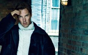 Картинка фотосессия, Benedict Cumberbatch, Elle, сентябрь 2014