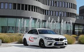 Картинка BMW, Тюнинг, Performance, 2016, Lightweight, M2, БелыЙ