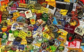Картинка texture, background, Beer Labels