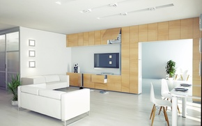 Картинка дизайн, стиль, комната, диван, интерьер