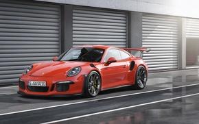 Картинка 911, Porsche, порше, GT3, 991, 2015