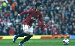 Картинка Спорт, Футбол, Football, Манчестер Юнайтед, Old Trafford, Manchester United Football Club, Олд Траффорд, Shinji Kagawa, …