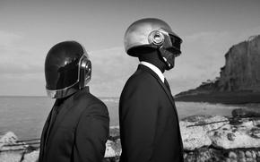 Картинка Музыка, Music, Daft Punk, Thomas Bangalter, Wallpaper, Томас Бангальте, Дафт Панк, Guy-Manuel de Homem Christo, …