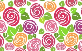 Картинка цветы, краски, обои для рабочего стола, фон, белый, HD wallpapers, фон ярко, лепестки, текстура