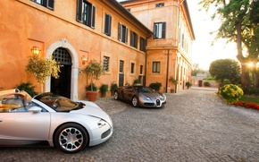 Обои дом, veyron, bugatti