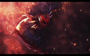 Картинка кровь, ужас, Bloodseeker, Dota 2