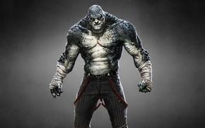 Картинка монстр, Batman: Arkham Origins, Бэтмен: Летопись Аркхема, Killer Croc, Убийца Крок